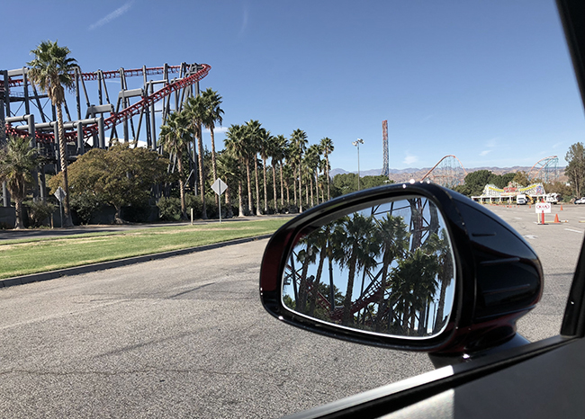 Kia Stinger at Six Flags Magic Mountain 650