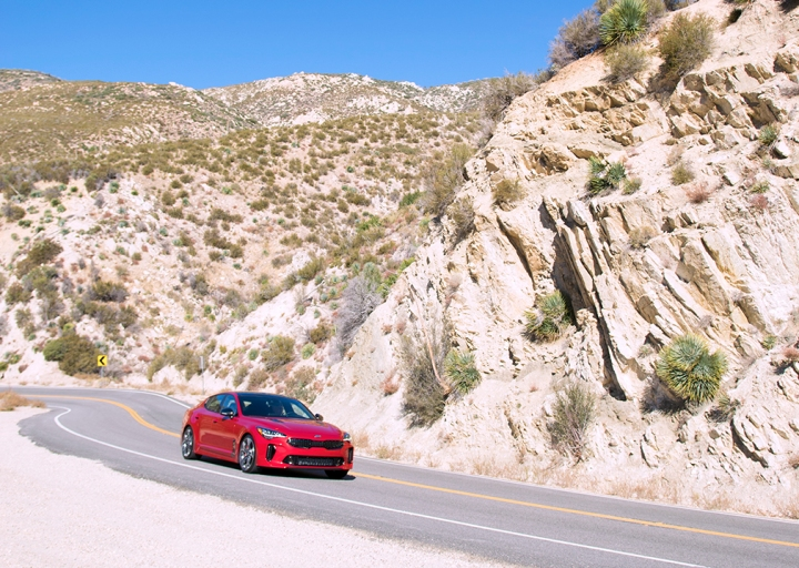 A Day in North Hollywood With the New 2018 KIA Stinger GT
