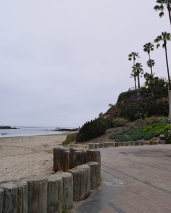 Aliso Beach in Laguna steps