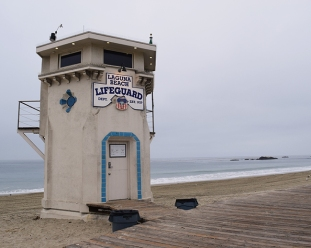 Aliso Beach Lifeguard Tower Laguna