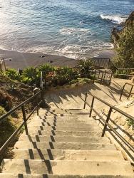 Divers Cove steps Laguna Beach
