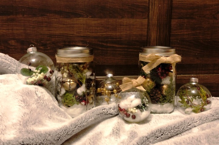 Homemade Holiday Décor in 10 Minutes