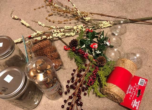 Holiday decoration materials