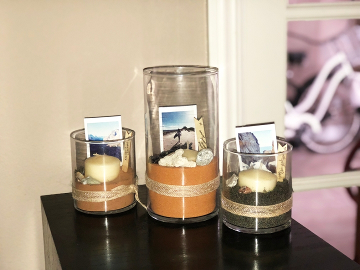 Gift Idea: Keepsake in a Candle