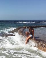 Victoria beach tide pool