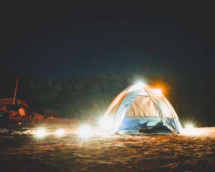 camping at alabama hills